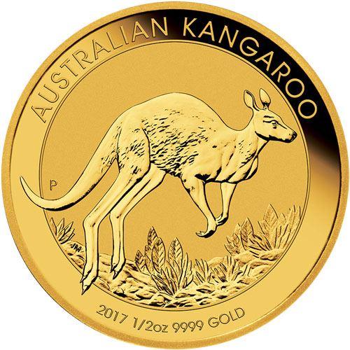 Picture of 1/2oz 24k Gold Australian Kangaroo - Varied Years