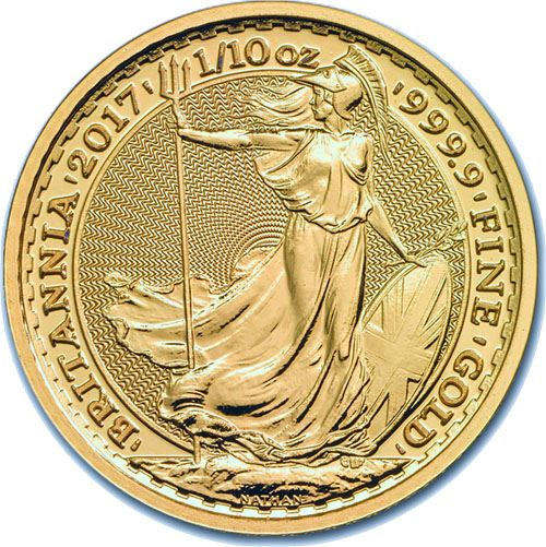 Picture of 1/4oz 24k Gold UK Britannia - Varied Years