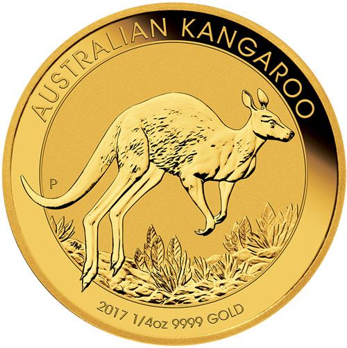 Picture of 1/4oz 24k Gold Australian Kangaroo - Varied Years