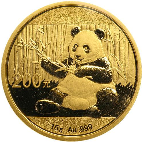 Picture of 15g 24k Gold Chinese Panda - Varied Years