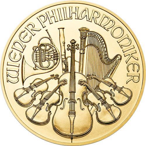 Picture of 1oz 24k Gold Austrian Philharmonic - Varied Years