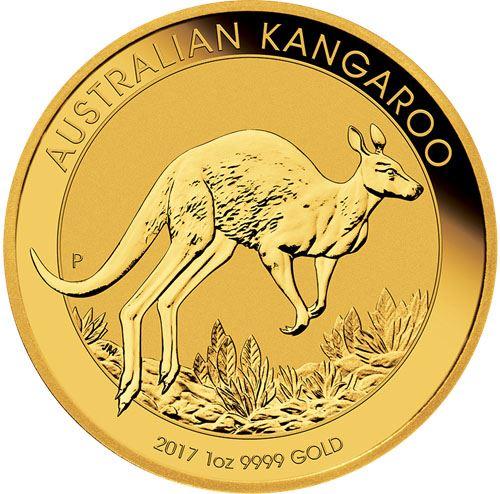 Picture of 1oz 24k Gold Australian Kangaroo - Varied Years