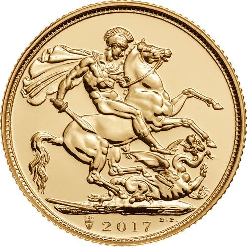 Picture of 22k Gold UK Sovereign - Varied Years