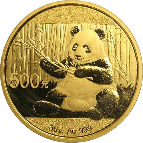 Picture of 1oz 24k Gold Chinese Panda - Varied Years