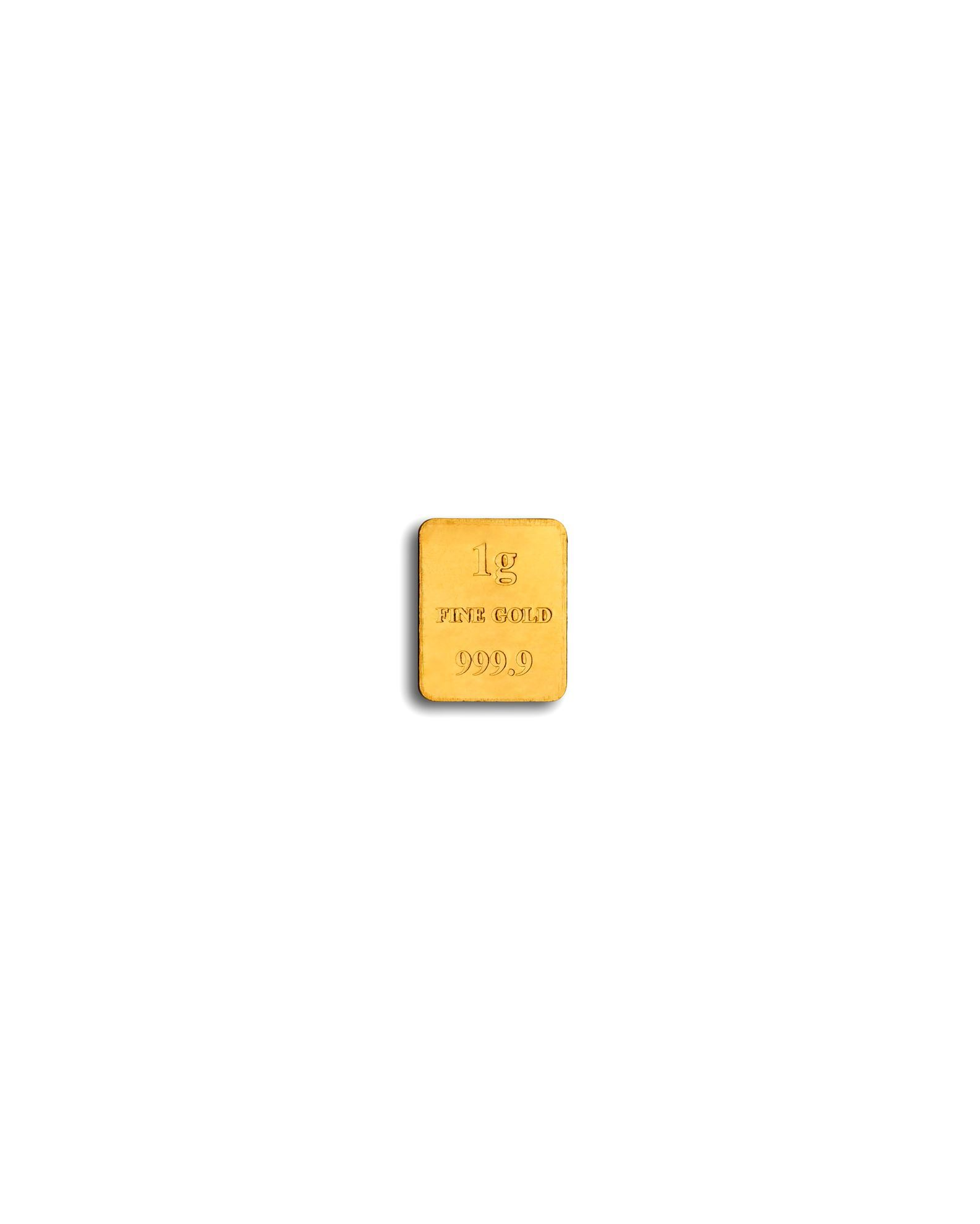 Picture of Baird 1g Gold Bar