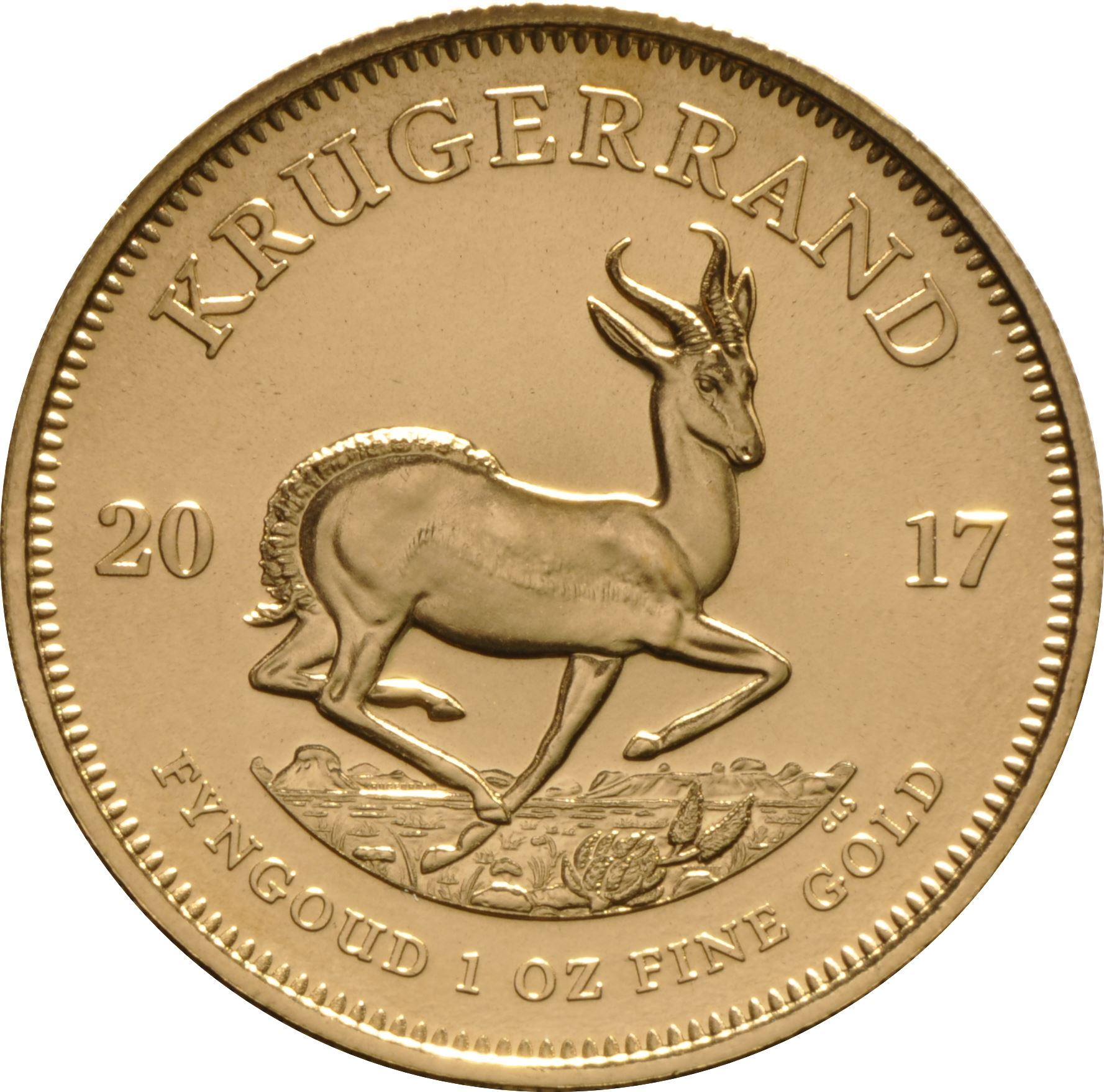 Picture of 1oz 22k Gold South African Krugerrand - Varied Years