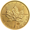 Picture of 1oz 24k Gold Canadian Maple Leaf - Varied Years