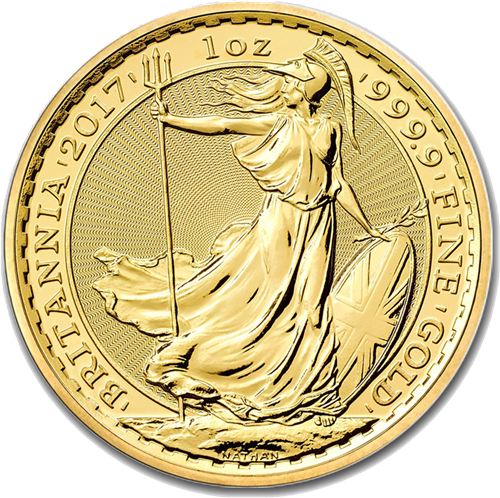 Picture of 1oz 24k Gold UK Britannia - Varied Years