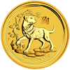 Picture of 2018 1/4oz 24k Gold Australian 'Year Of The Dog'