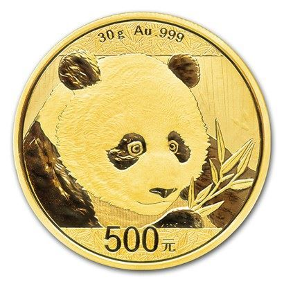 Picture of 2018 30g 24k Gold Chinese Panda