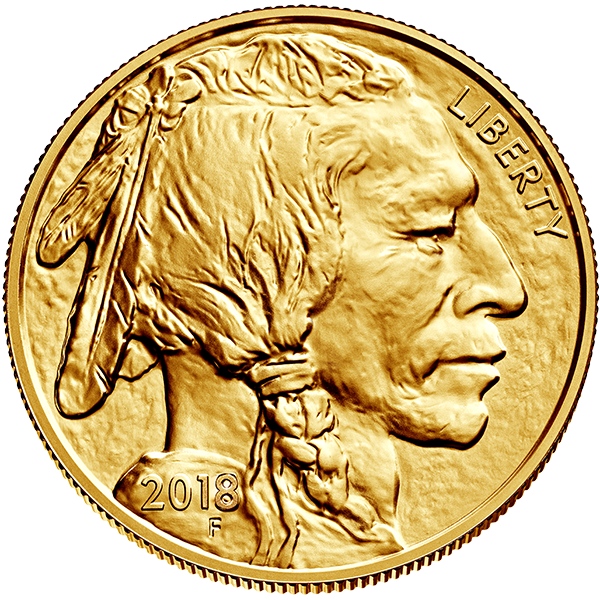 Picture of 2018 1oz 24k Gold American Buffalo