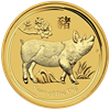 Picture of 2019 1oz 24k Gold Australian 'Year Of The Pig'