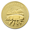 Picture of 2019 1oz 24k Gold UK Lunar 'Year Of The Pig'