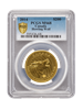 Picture of PCGS 2014 1oz Gold Howling Wolf MS68