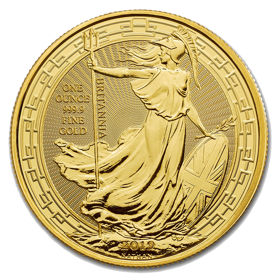 Picture of 2019 1oz 24k Gold UK Britannia Oriental Border