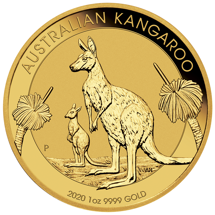 Picture of 2020 1oz 24k Gold Australian Kangaroo