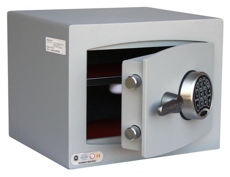 Picture of SECURIKEY - MINI VAULT S2 SILVER 1 ELECTRONIC