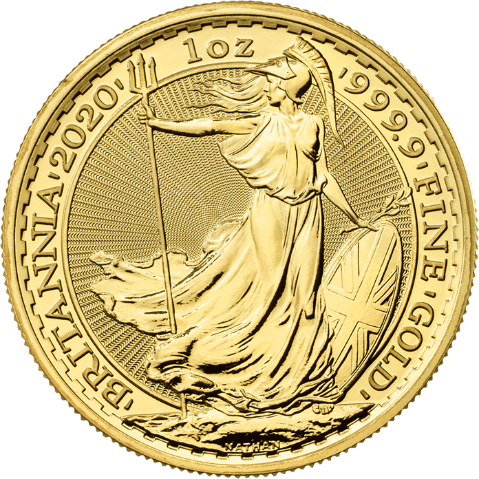 Picture of 2020 1oz 24k Gold UK Britannia