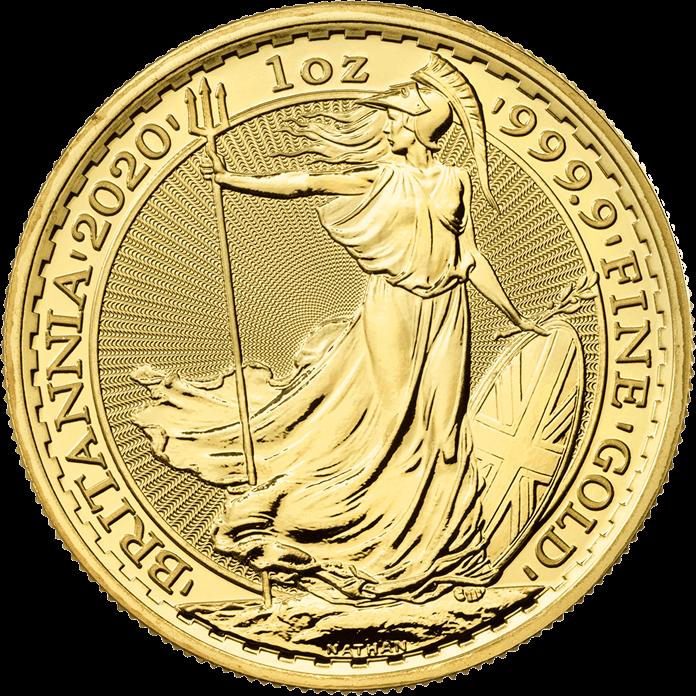 Picture of 2020 1oz 24k Gold UK Britannia