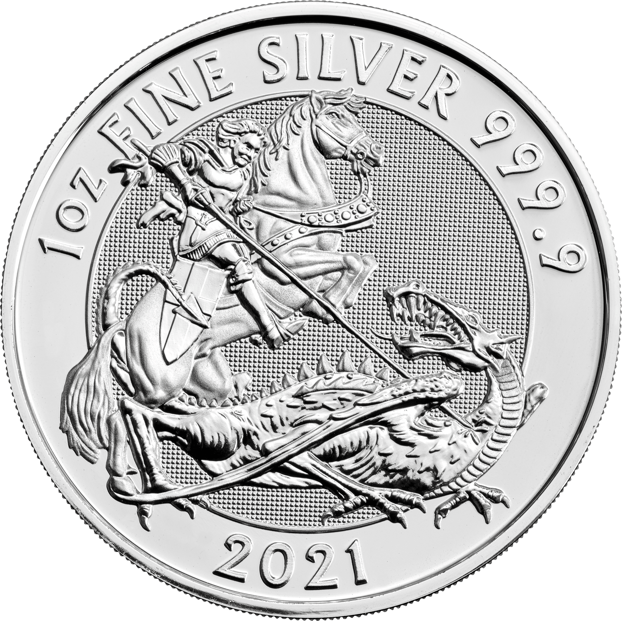 Picture of 2021 1oz Silver UK Valiant